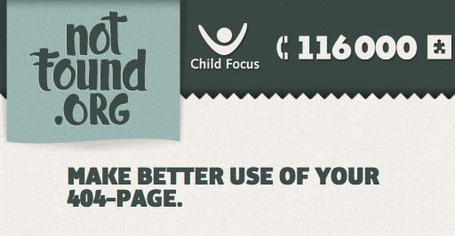 Fai buon uso dei tuoi errori 404