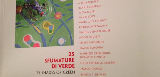 25 sfumature di verde libro