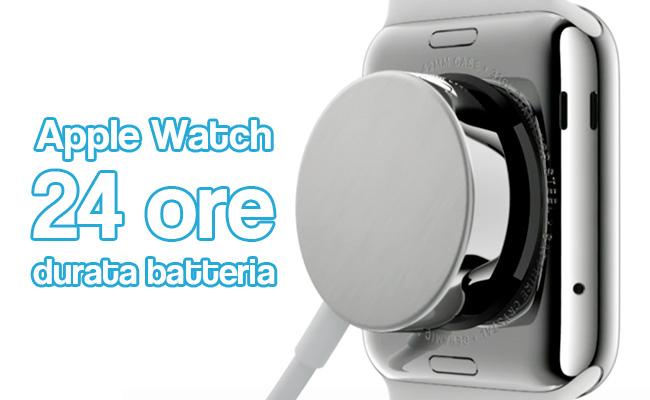 Durata della batteria di Apple Watch