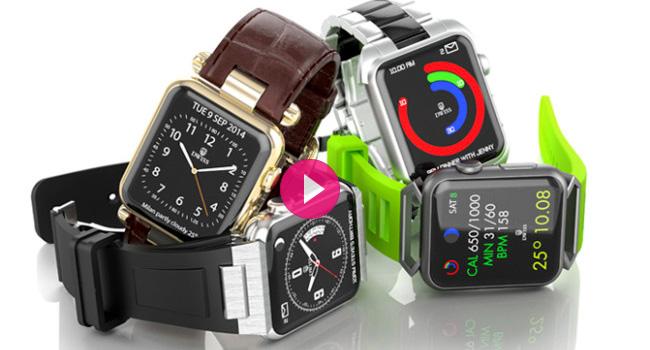 Primi accessori Apple Watch da Dwiss