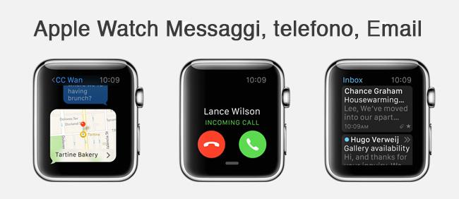 Messaggi Apple Watch