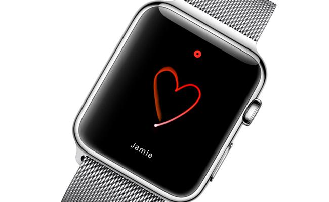 Tasto conversazione Apple Watch