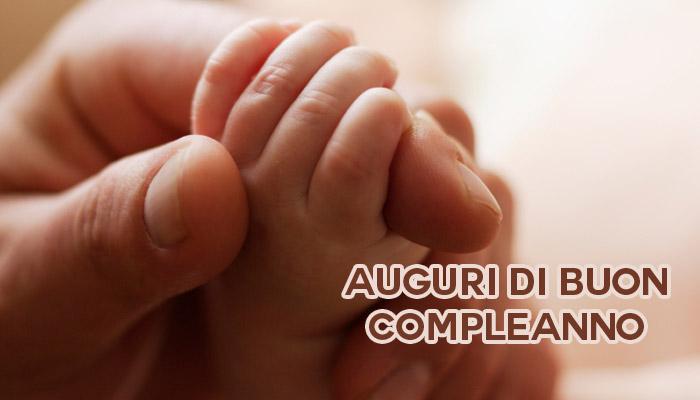 Auguri di Buon compleanno nascita bambino