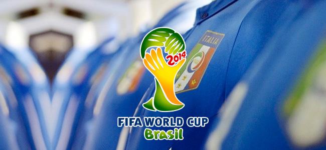 Data e ora delle partite dell'Italia ai Mondiali di calcio 2014 in Brasile