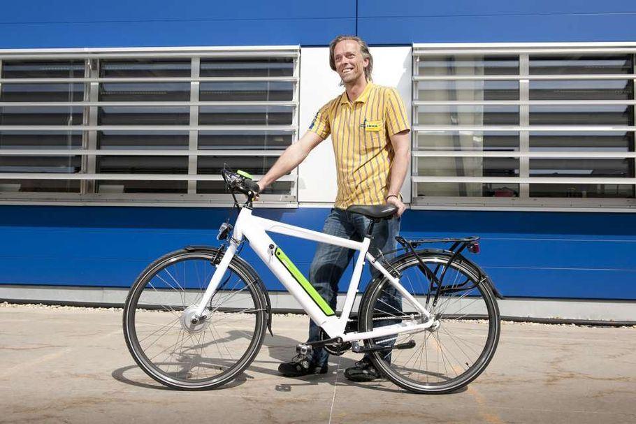 La bicicletta elettrica di IKEA