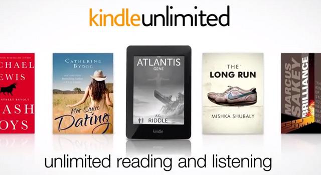 """""""Kindle unlimited"""" tutti gli ebook che vuoi per €9.99 al mese in abbonamento"""