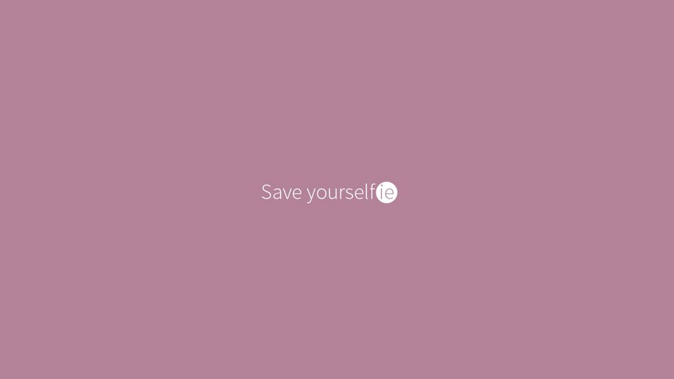 Save Yourselfie