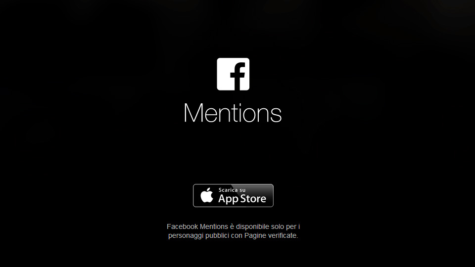 Facebook Mentions per iPhone