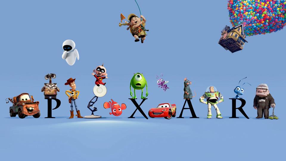 Pixar adesivi Facebook