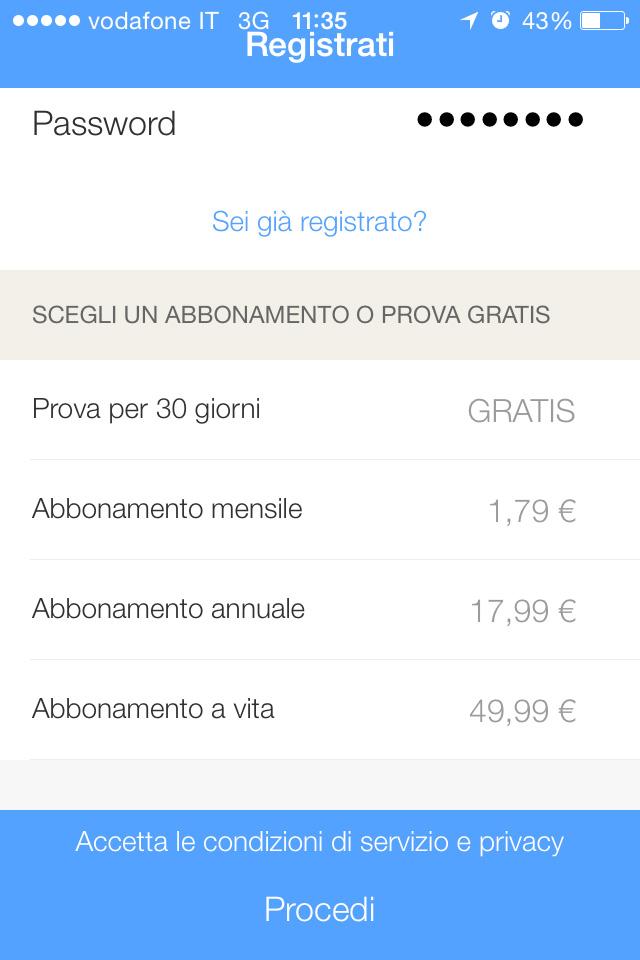 Prezzo abbonamento GOOD MORNING ITALIA
