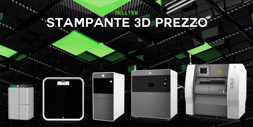 Prezzo stampante 3D professionale