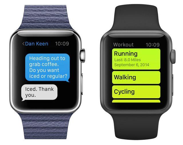 Apple Watch leggibilità caratteri