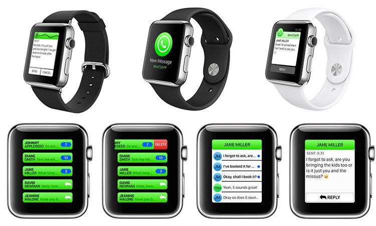 Notifiche WhatsApp su Apple Watch