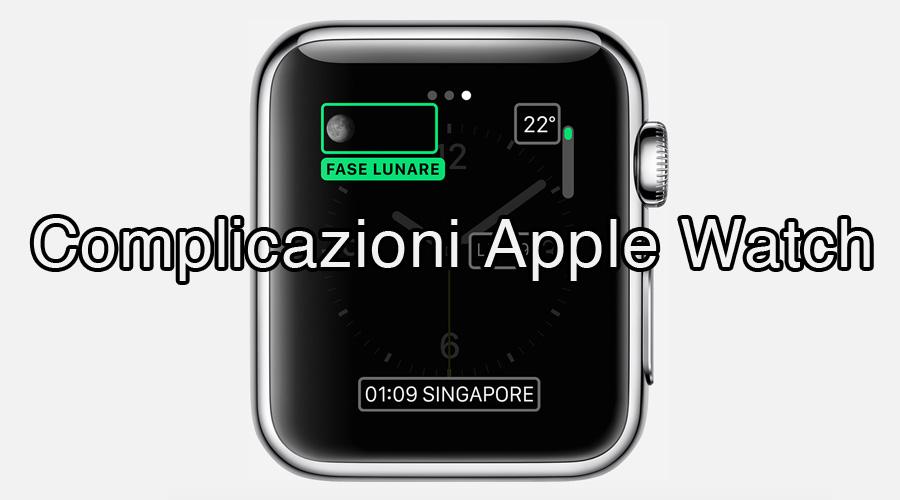 Complicazioni Apple Watch