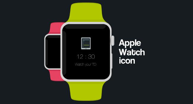 Apple Watch icona PSD