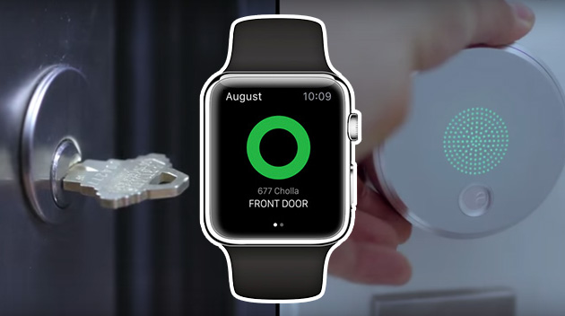 Apri la porta con Apple Watch