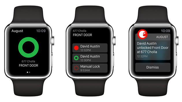 August-Smart-Lock-Apple-Watch