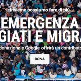 Dona per i Migrati e Google raddoppia