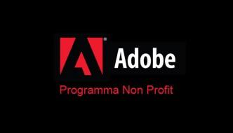 Adobe: Il programma per le Non Profit