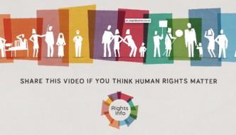 I diritti umani spiegati in un video di 2 minuti