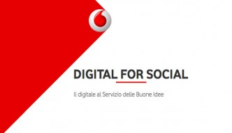 Digital for Social, il bando Vodafone per le Onlus