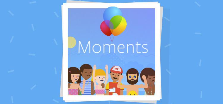 Facebook Moments Applicazione foto