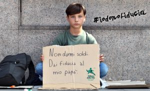 #iodonofiducia – Campagna contro la povertà in Italia