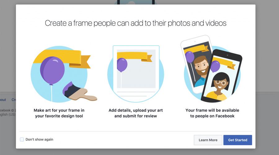 Creare cornici immagini profilo Facebook a supporto del Fundraising