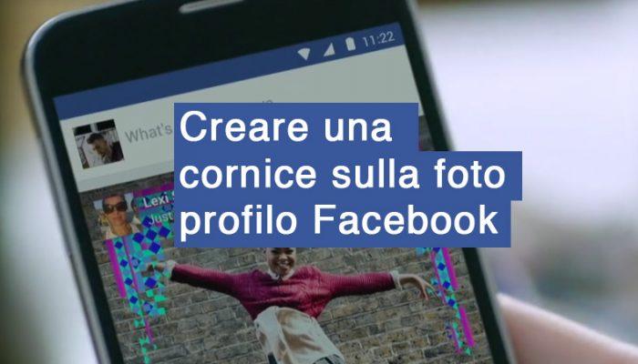 Come creare una cornice per la foto del profilo di Facebook