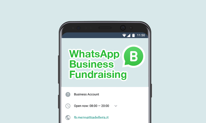WhatsApp Business per le ONP e il Fundraising