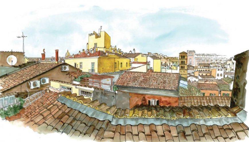 I tetti di Roma