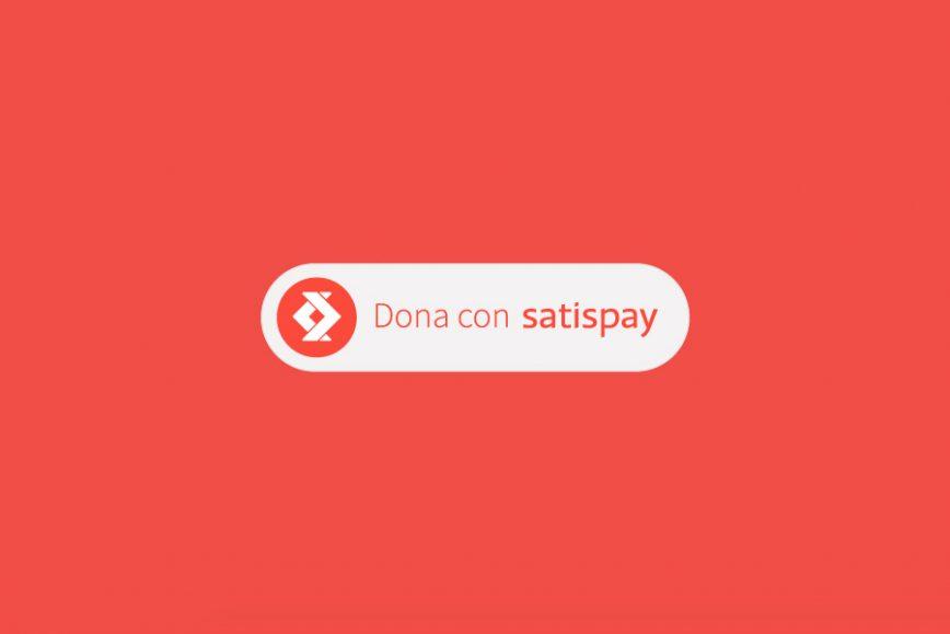Come ricevere donazioni tramite la App di Satispay